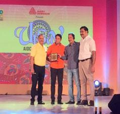 AIDC GLOBAL STAR AWARD 2016-Rajeev Nair | Stallion Group